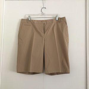 Talbots Khaki Shorts